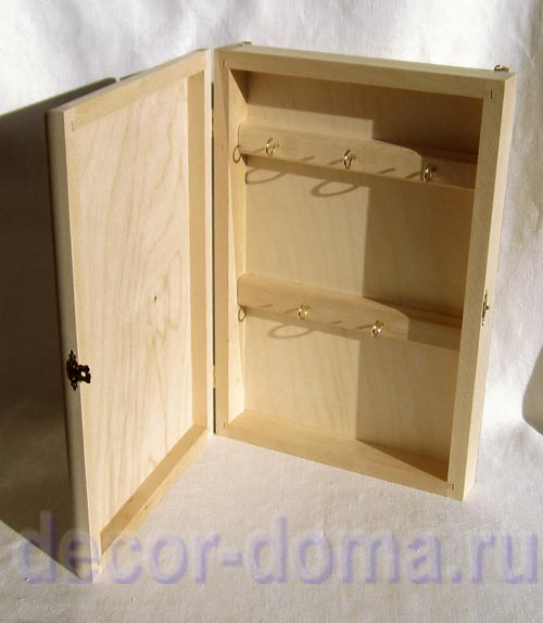 Шкафчик для ключей своими руками