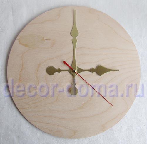 Изготовление стрелок для часов своими руками