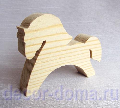Как вырезать лошадь из дерева своими руками