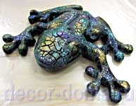 Декор с фацетным лаком и краской Вива Майя Голд