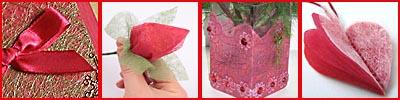 Флизелин декоративный нетканый материал, примеры декора
