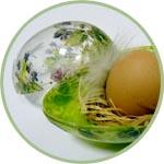 Яйцо обратный декупаж