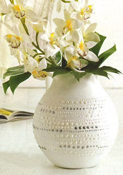 viva-perlen-pen декор вазы