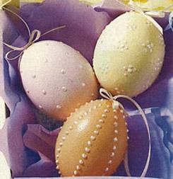 Декор пасхальных яиц с Perlen Pen