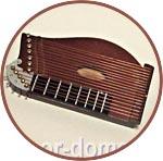 Музыкальный инструмент миниатюрный, цитра