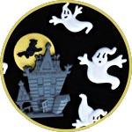 Пуговицы для декора, Дом с привидениями