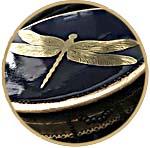 Шкатулка ар-нуво, Золотая стрекоза, мастер-класс