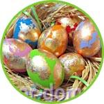 """Пасхальные яйца """"Весенний блеск"""", мастер-класс"""