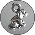 Собачка микро, подвеска металлическая