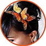 Декоративные элементы - бабочки и птички