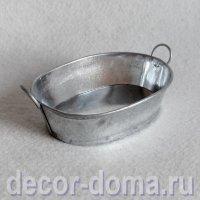 Таз цинковый мини, 9,5 см
