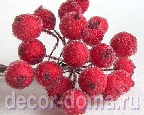 Как сделать ягодки в сахаре своими руками