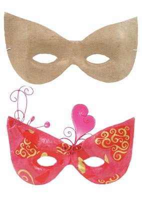 Как сделать маску для девочки из бумаги своими руками