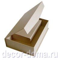 Коробки картонные с магнитным клапаном, 2 шт.