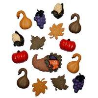 Пуговицы для декора, Осенний урожай, день благодарения