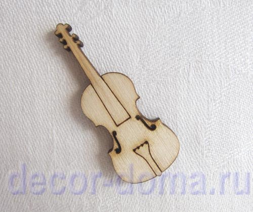 Скрипка своими руками для куклы 61