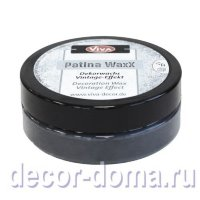 Восковая патина Viva Decor Patina WaxX, цвет 801 серый, 50 мл