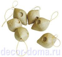 Фигурка из папье-маше DECOPATCH, украшения елочные с подвесом
