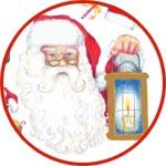 Декупаж Санта Клаус