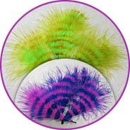 Новые цветные перья