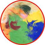 Перья цветные ассорти