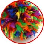 Цветные перья купить
