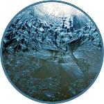 Аэрозоль для новогоднего декора ICE CRYSTALS (Ледяные кристаллы)