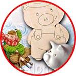 Акции и Скидки → АКЦИЯ! Фигурка свиньи в подарок за покупку от 2000 рублей