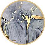Бумага Decopatch, с золочением, FDA797C, мрамор с золотом