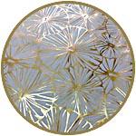Бумага Decopatch, с золочением, FDA790, золотые одуванчики