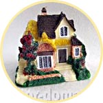 Домики, виллы, коттеджи для кукольной миниатюры