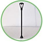Винтажный фонарь мини, светящийся, 8 см