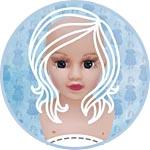 Голова, руки, ноги, набор деталей для куклы, пластик