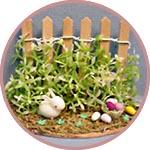 Заборчики и окошки для миниатюры