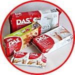 Массы для лепки DAS, воздушная сушка