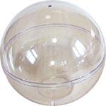 Прозрачный шар пластиковый с донышком
