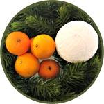 Светящийся шар-снежок, новогодний мастер-класс по декору