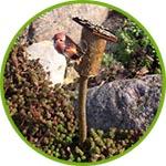 Скворечник-дуплянка мини, 5 см
