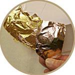 Поталь для золочения в листах и рулонах