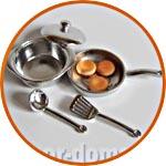 """Готовим обед"", набор мини-посуды"