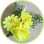 Цветочки и букетики для декора