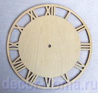 Часы из фанеры с птичками