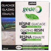 Эпоксидная био-смола Pebeo biOrganic Gedeo, эффект объемной глазури, 150 мл