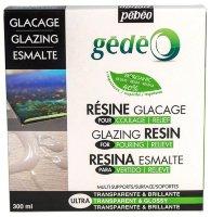 Эпоксидная био-смола Pebeo biOrganic Gedeo, эффект объемной глазури, 300 мл