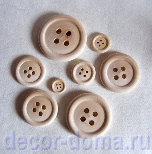 Большие пуговицы для декора ткань страйп сатин в иваново ткань купить