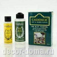 Cadence 100 Coats Varnish Set, лак эпоксидный двухкомпонентный 100 слоёв, 70+120 мл