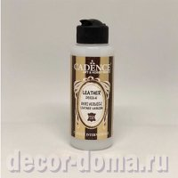 Лак по коже Cadence Leather Varnish Gloss, глянцевый, 70 мл