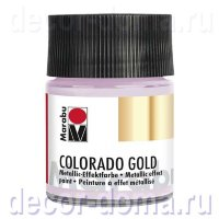 Краска Marabu Colorado Gold, 50 мл, цвет 756 серебристо-лиловый
