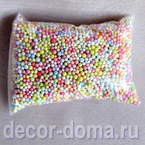 Наполнитель шарики купить ткань ранфорс в интернет магазине